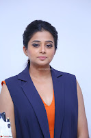 Priyamani in Beautiful Short Deep neck Orange Dress ~  Exclusive 55.JPG