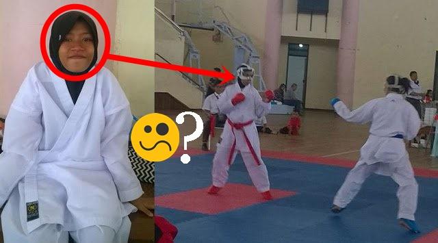 Cerita Auliya Atlet Wanita Karate yang Kena Diskualifikasi Karena Pakai Jilbab, Ini Klarifikasi Panitia