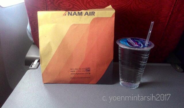 Pengalaman Terbang Bersama NAM Air