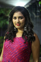 Srushti in beautiful Pink Sleeveless Dress Cute Actress Dimples ~  Exclusive 006.JPG