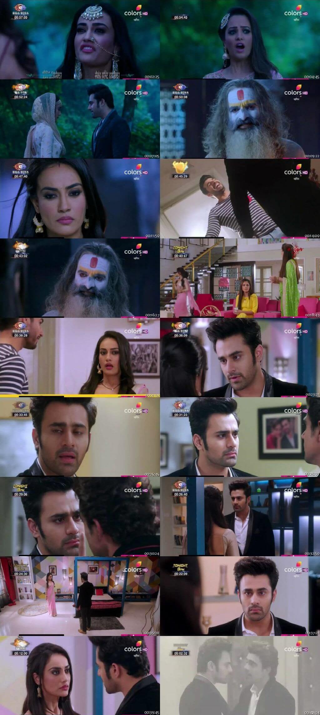 Screenshots Of Hindi Show Naagin Season 3 2018 Episode 32 300MB 480P HD