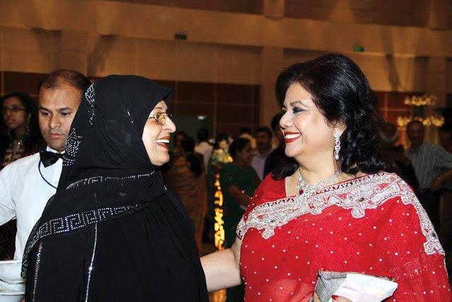 Shabana and Runa Laila
