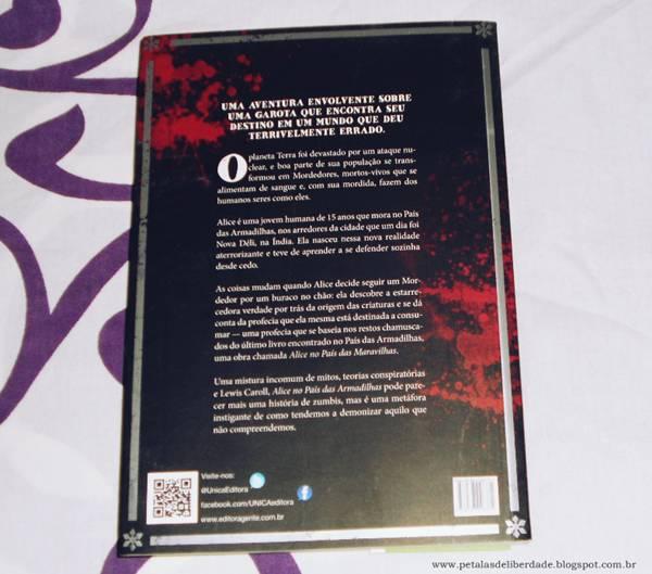 Resenha, livro, Alice no País das Armadilhas, Mainak Dhar, trechos, Unica, trilogia, sinopse