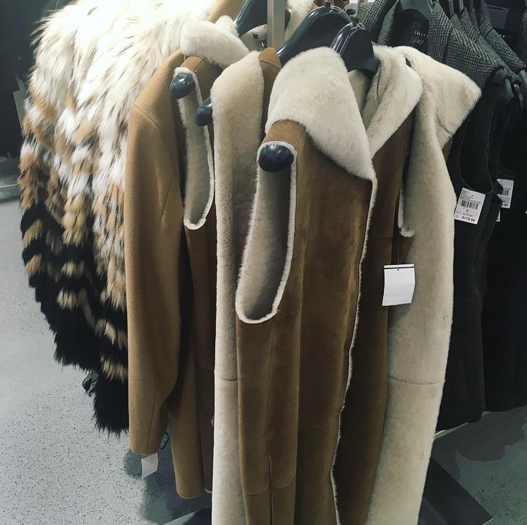 Fur Coats New Century 21 Brooklyn Fulton Mall