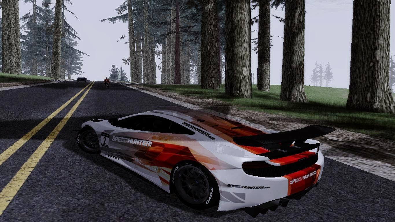 Mclaren Mp4 Speedhunters Gta San Andreas