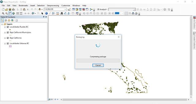Como compartir un mapa en ArcMap