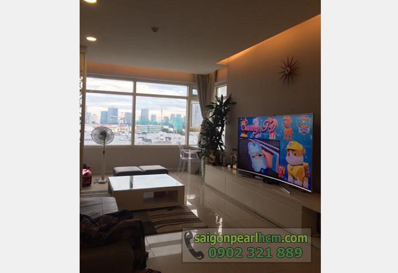 bán căn hộ Saigon Pearl tầng 3 view sông