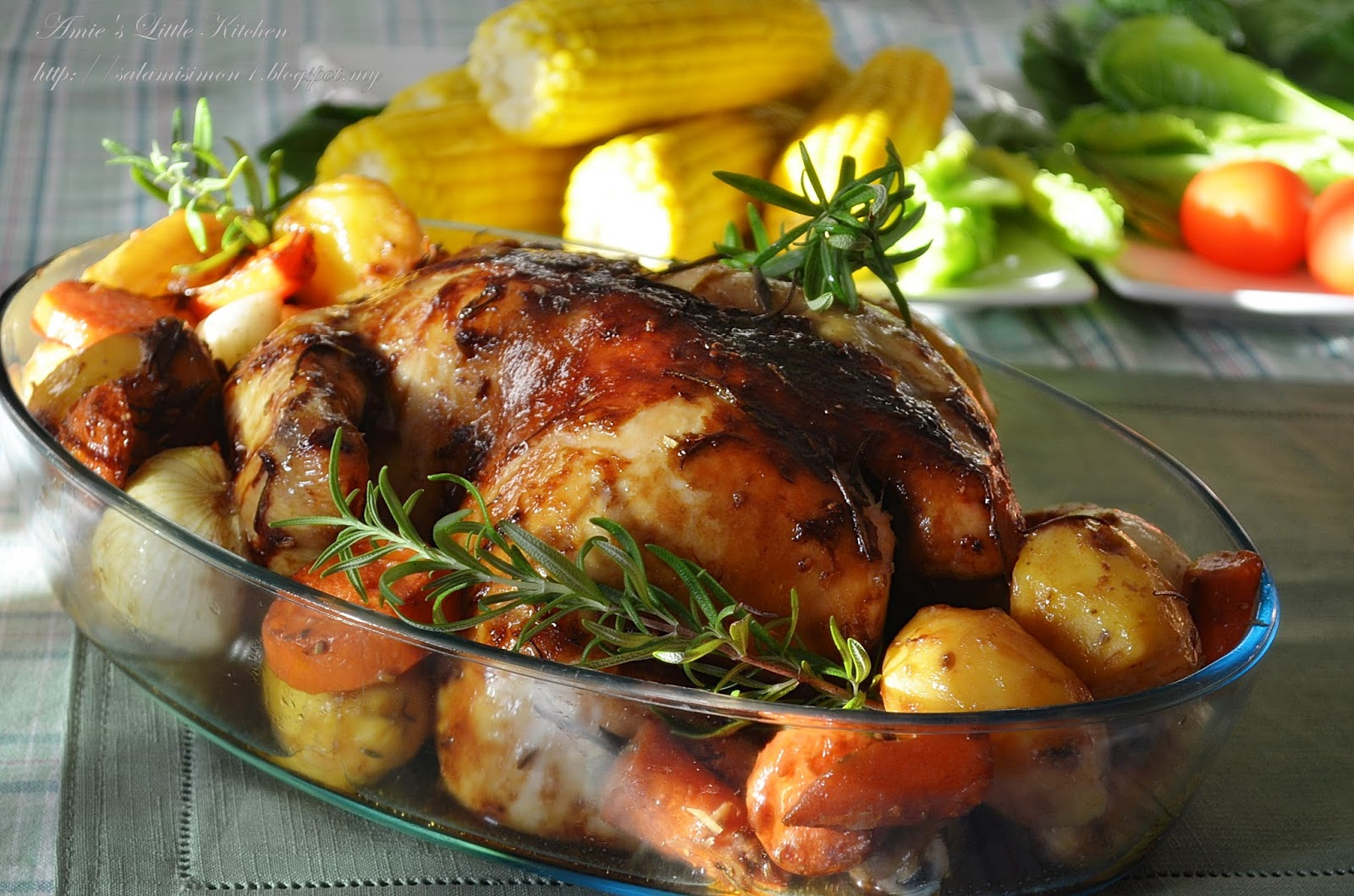 Amie S Little Kitchen Ayam Panggang Rosemary