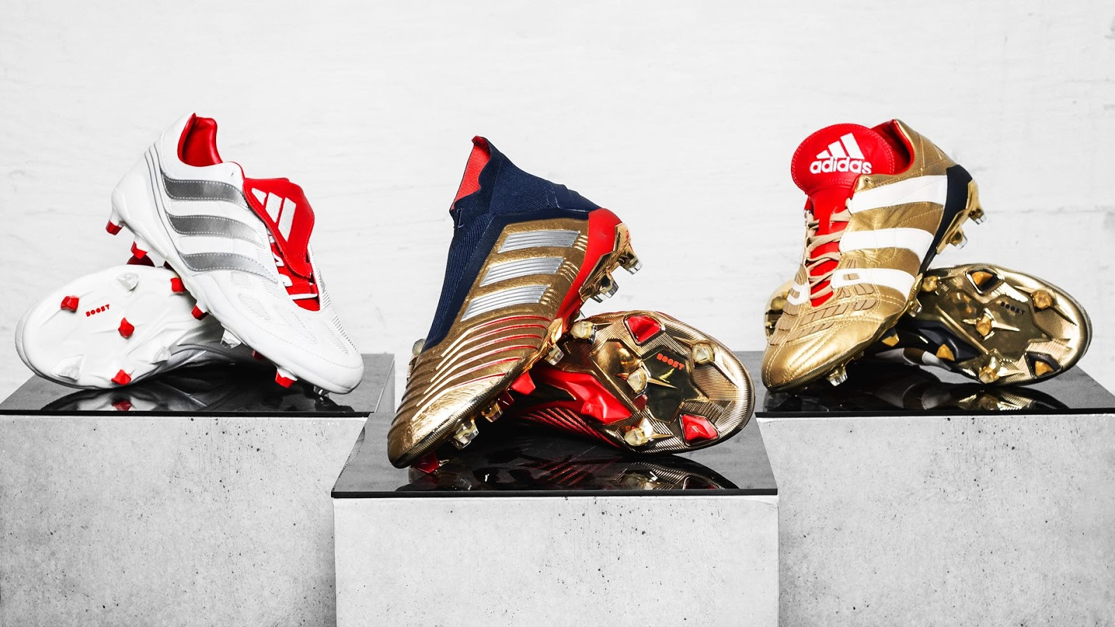 Beckham & Zidane adidas 25 Years of Predator Pack | Pro
