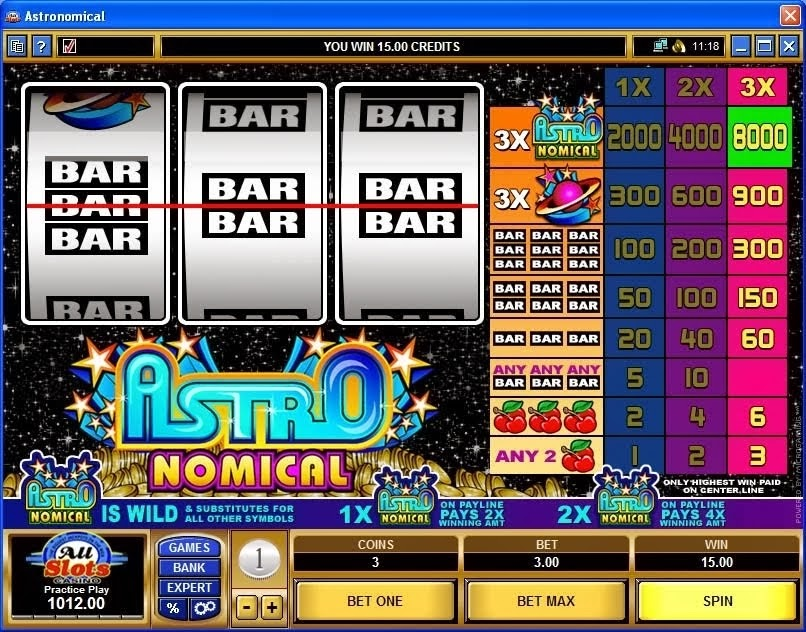 Easy street slot machine game