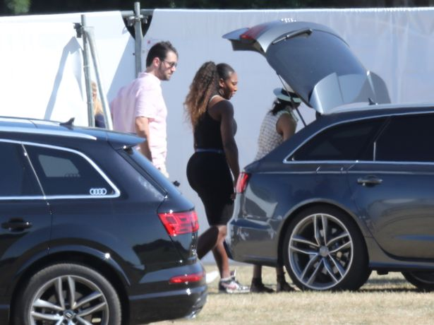 NEWS IN PICTURES: Meghan Markle cheers on Prince Harry at polo match alongside pal Serena Williams