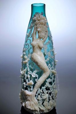 Marlene Brady Polymer Clay Mermaid