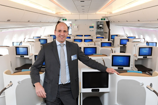 Airbus Marketing Director Francois Obe (Airbus)