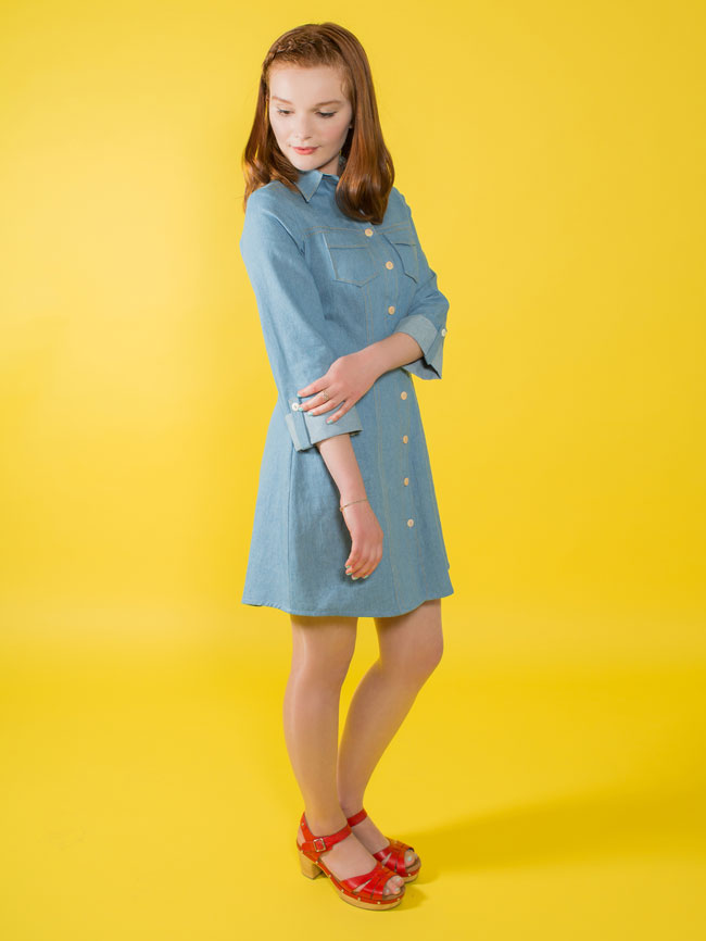 Rosa shirt dress sewing pattern - Tilly and the Buttons