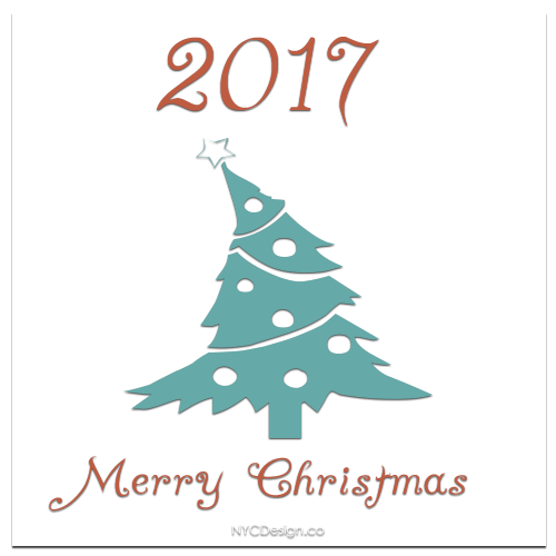 new york web design studio new york ny merry christmas cards 2017