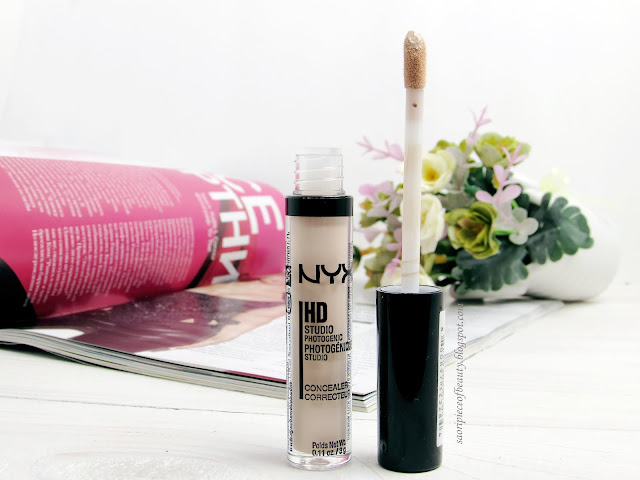 Жидкий консилер HD Photogenic Concealer Wand от NYX / блог A piece of beauty