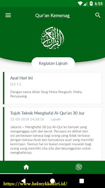aplikasi Al-Quran bahasa indonesia untuk androidk
