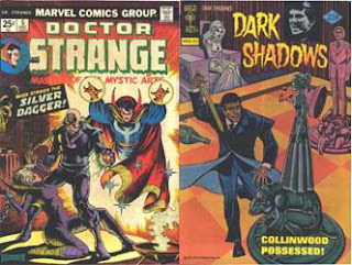 Dr. Strange 5 and Dark Shadows 34 covers