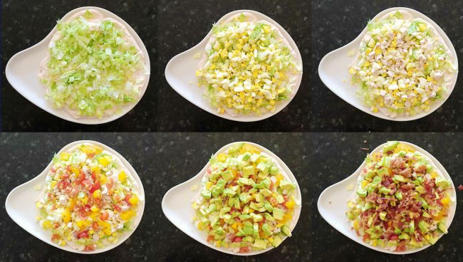 SOUTHWEST COBB SALAD DIP
