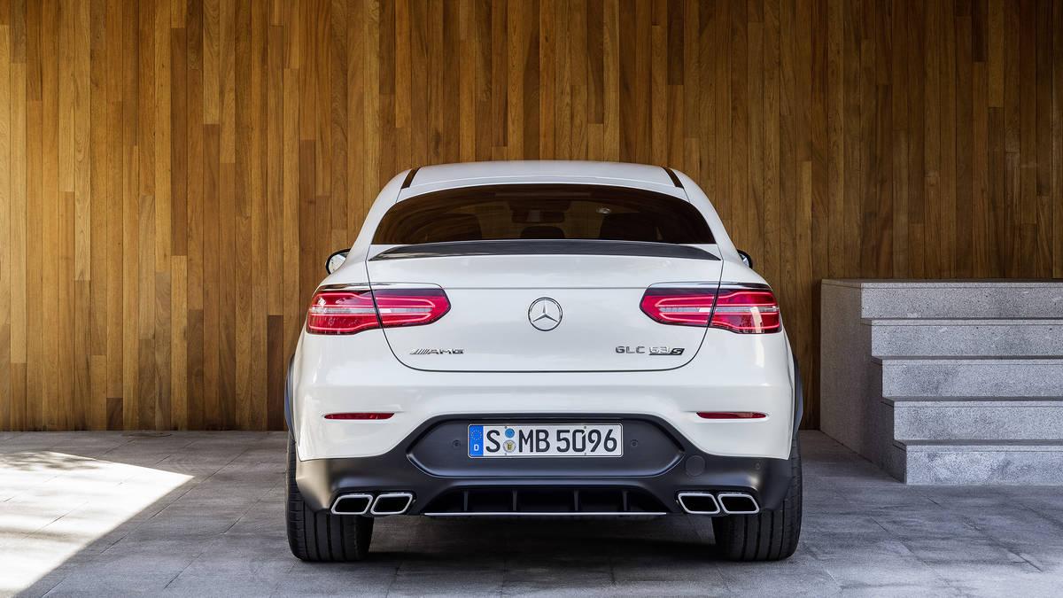 Đuôi Xe Mercedes AMG GLC 63