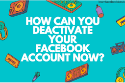 How can you deactivate your Facebook account now? #DeactivateFacebook
