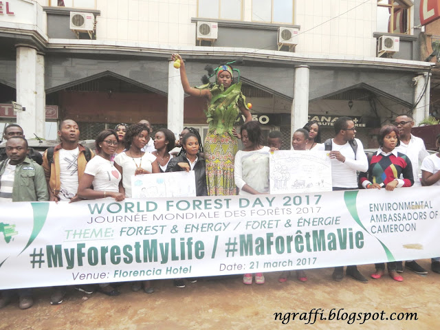"""Celebrating World Forestry Day with GREENPEACE """"a la Camerounaise"""""""
