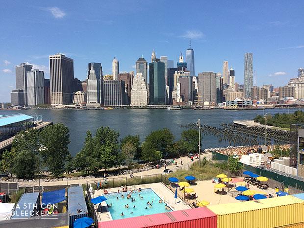 miradores de Nueva York brooklyn heights promenade