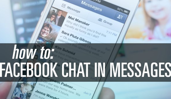 how to use facebook messages