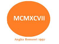 Angka Romawi 1997 Lengkap dengan Cara Penulisannya
