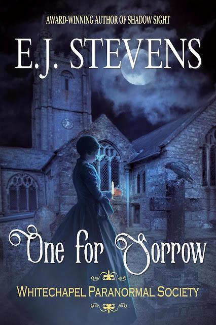 One for Sorrow, cover, E. J. Stevens, horror, Victorian, dreadpunk
