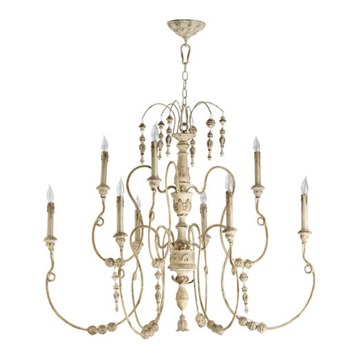 Old World Dining Room Chandeliers: Felt Inspired: New In Store: Salento Persian White Chandelier