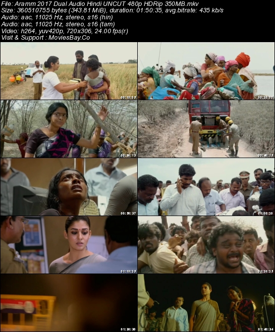 Aramm 2017 Dual Audio Hindi UNCUT 480p HDRip 350MB worldfree4u