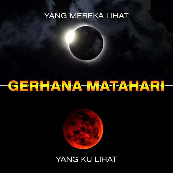 Meme Gerhana Matahari Gehana Matahari Di Sensor Kpi
