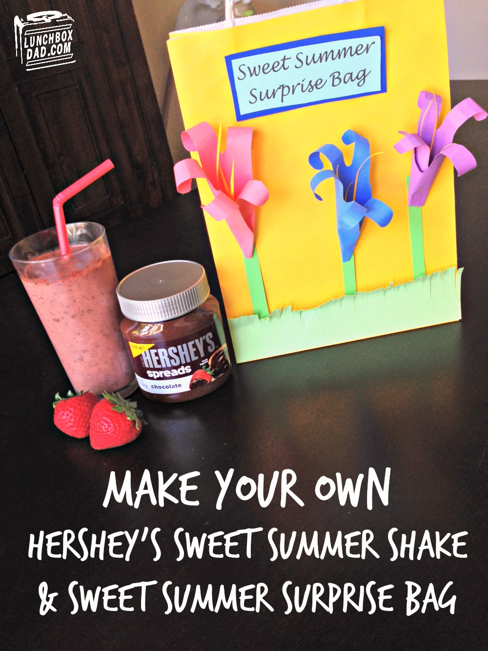 Make your own Hershey's Sweet Summer Shake and Sweet Summer Surprise Bag #Shop #Collectivebias