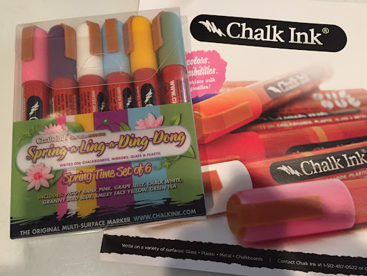 Review: Chalk Ink markers