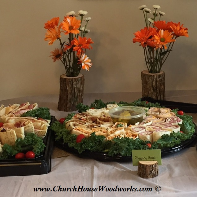 Rustic Wedding Food: Rustic 4 Weddings: Rustic Snack And Buffet Table Setting