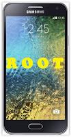 Root Samsung Galaxy E7.