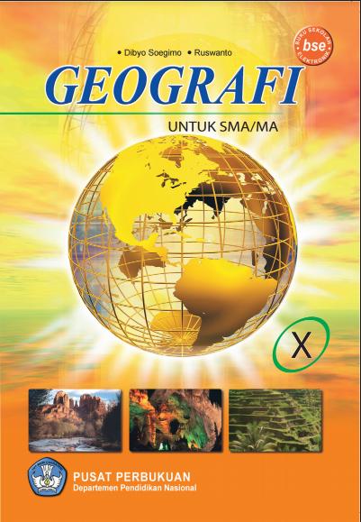 Download Buku Siswa KTSP SMA Kelas 10 Mata Pelajaran Geografi