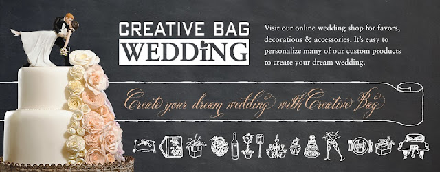 Create your dream wedding online with Creative Bag | creativebagwedding.com
