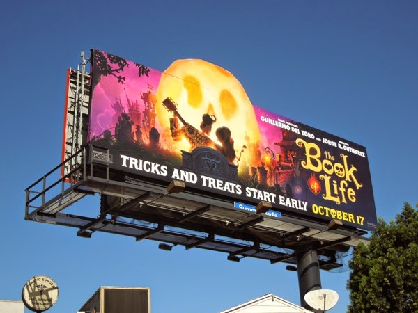Book of Life movie billboard
