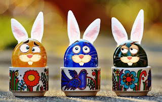 Picture of Easter Eggs with Ears