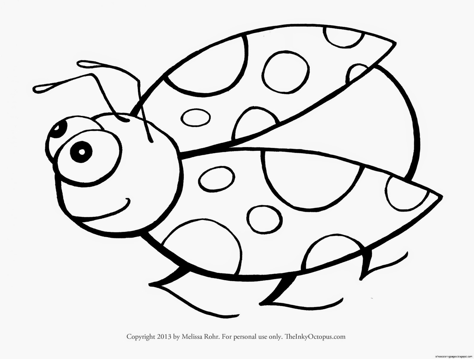 Ladybirds Coloring Pages   Free Coloring Pages