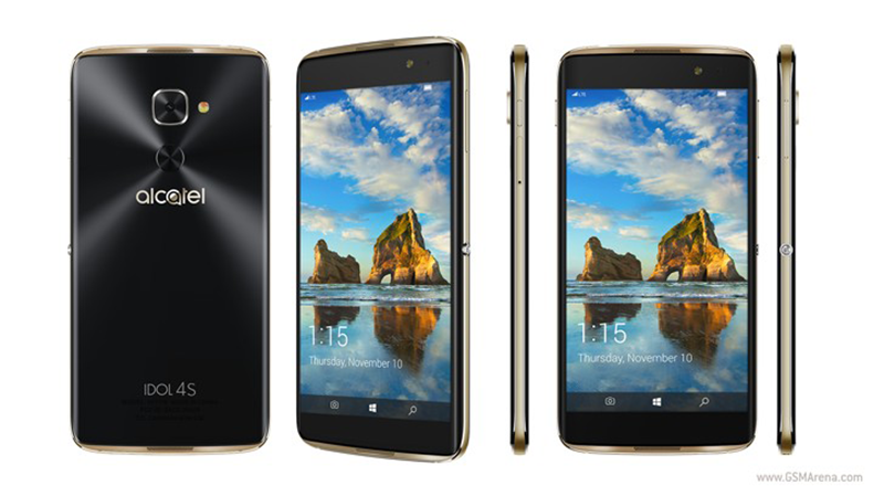 Alcatel Idol 4S With Windows 10 OS Announced, Comes With Better Specs At USD 469!