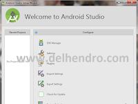 Cara Instal Paket SDK Android Studio Terbaru