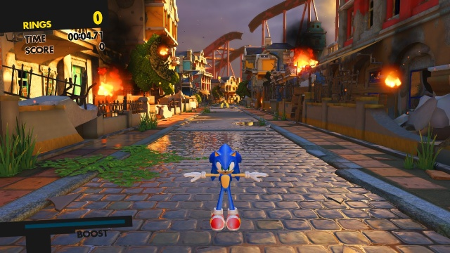 Download Sonic Forces PC Games Gameplay