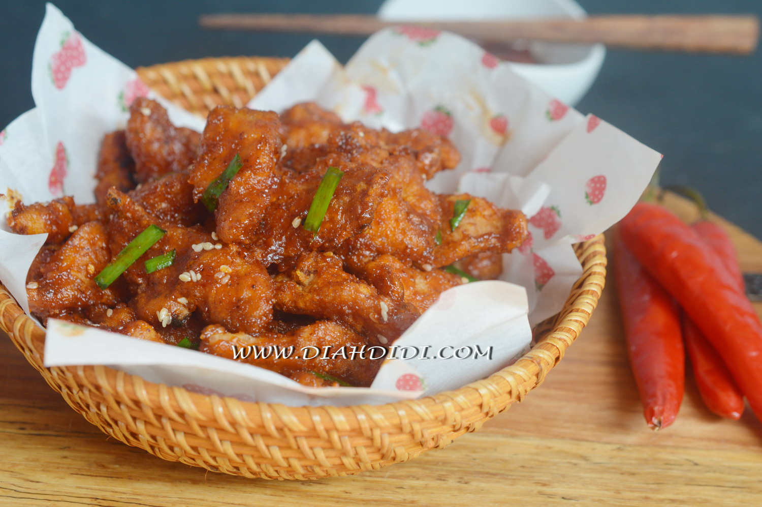Diah Didis Kitchen Chicken Pop Corn Pedas Ala Korea