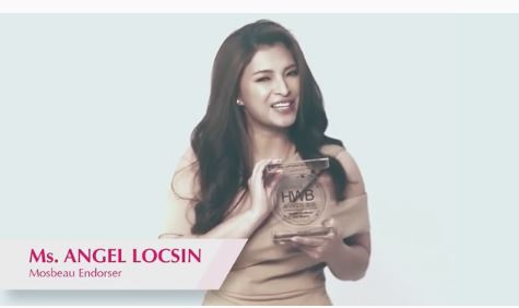 Angel Locsin Congratulates Her Mosbeau Family For Winning The Anti-aging Supplement Brand of the Year