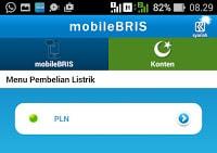 tampilan layar mobile BRIS ke 3
