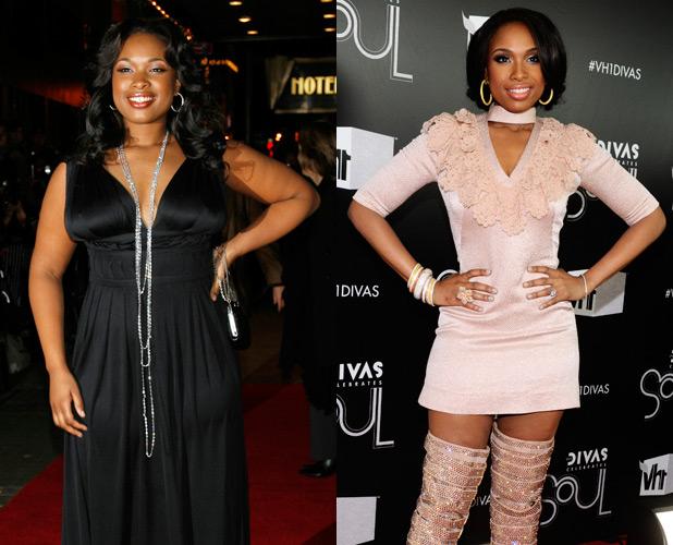 Celebrity Weight Loss: Jennifer Hudson Motivational for ...
