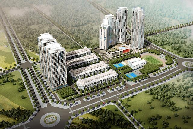 Phối cảnh dự án Hải Đăng City Mỹ Đình - HD Mon city
